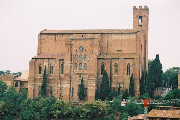 Church in Sienna, Tuscany