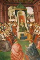 Painting in The Duomo, Sienna, Tuscany