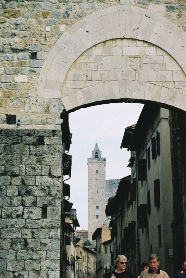 View of San Gimignano, Tuscany