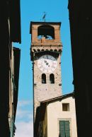 Clock Tower, Lucca, Tuscany