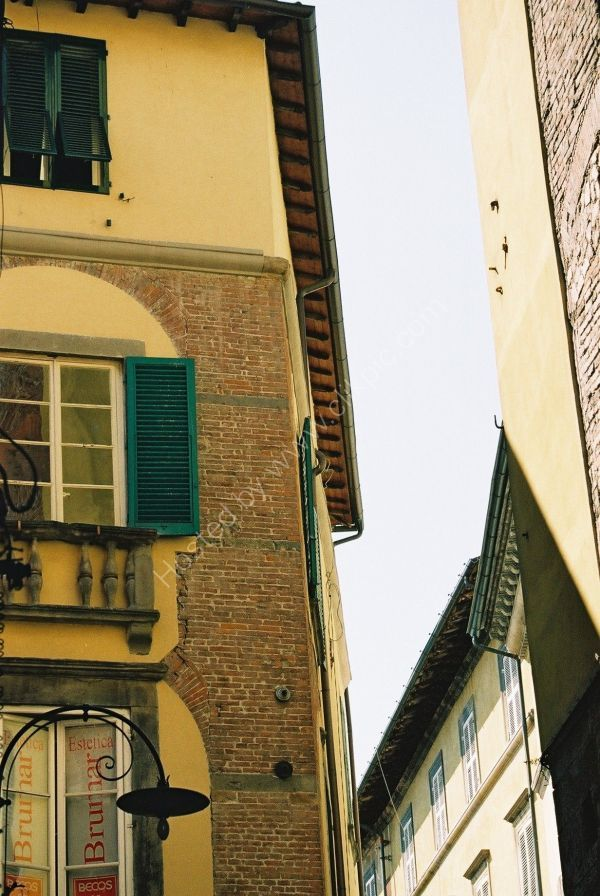 Street in Lucca, Tuscany