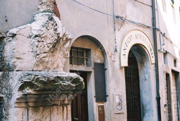 Roman Pillar, Lucca, Tuscany
