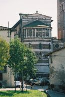Buildings in Lucca, Tuscany