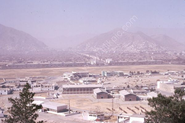 View over Army Camp, Kabul