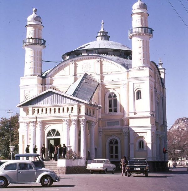 Mosque, Kabul
