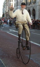 Penny Farthing, New Years Day Parade, London