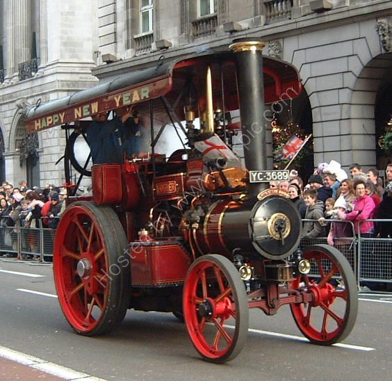 Steam Tractor, New Year Parade 2007, London