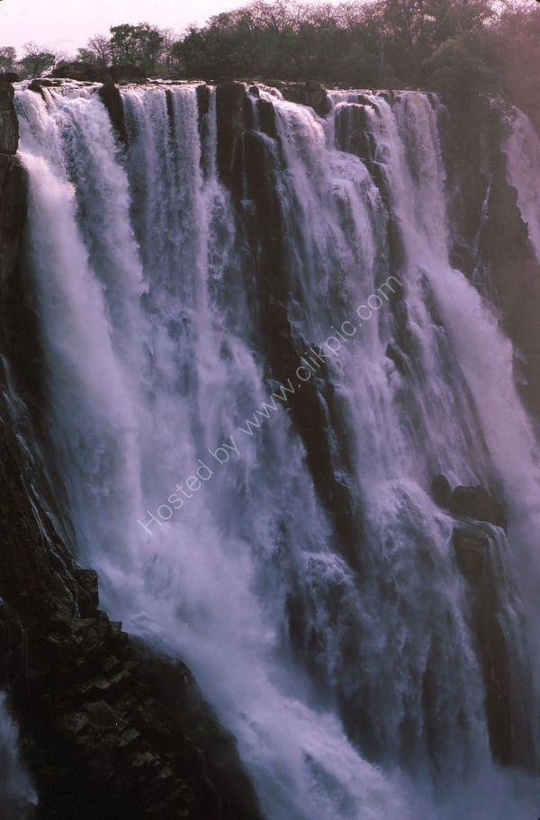 Full Drop of Victoria Falls, Livingstone