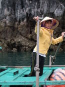 Vietnamese Boat Lady