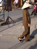 Vietnamese Lady Smoking a Cigar, Hoi An