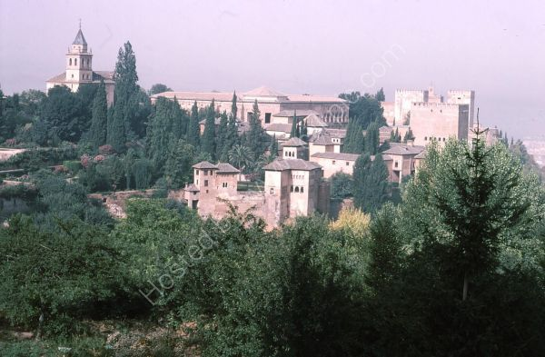 View of Al Hambra, Granada