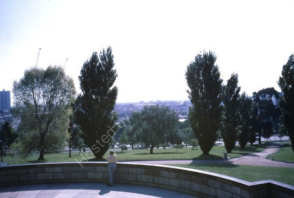 View of Melbourne City from War Memorial, Melbourne