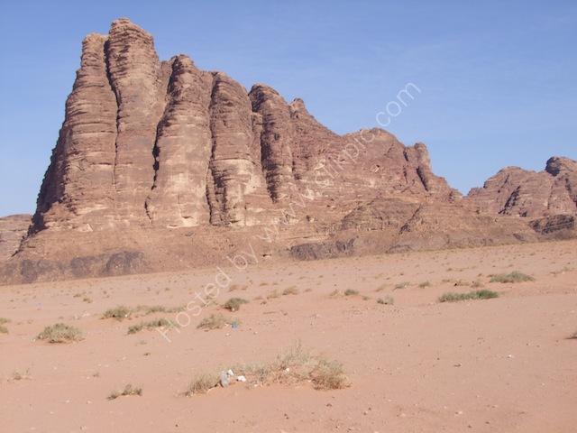 Jebel al-Mazar (Seven Pillars of Wisdom), Wadi Rum