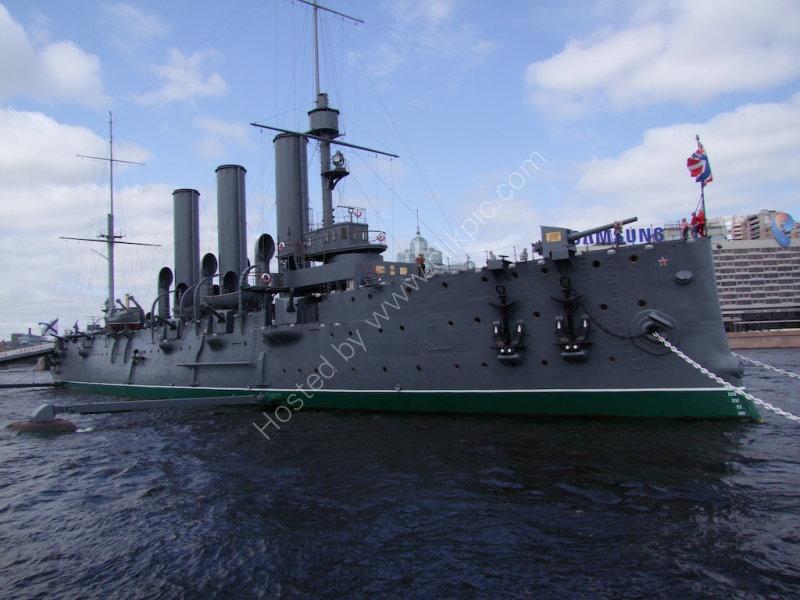 Peter the Great War Ship, St Petersburg