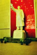Statue of Chairman Mao, Yantze River Bridge, Nanjing