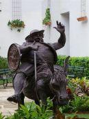 Bronze Sculpture, Plaza Armas, Havana
