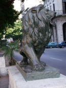 bronze Lion, Paseo Marti (Del Prado), Havana