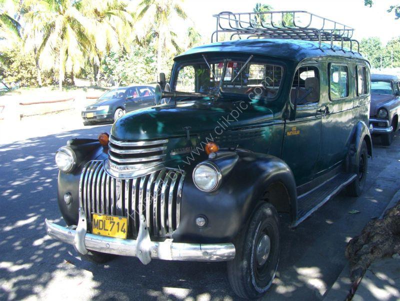 1950's Chevrolet Pickup, Varadero