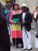Cubans, Cathedral Square, Havana