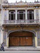Mgnificent Derelict Building, Havana