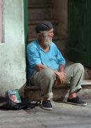 Revolutionary Cuban, Obispo Street, Havana