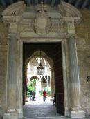 Entrance to Book Museum, Plaza de Armas, Havana