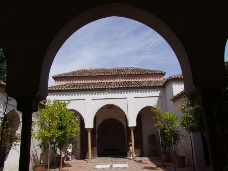 View of La Alcazaba, Malaga, Spain