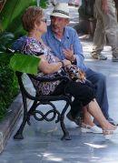 Conversation, Piazza de la Naranjos, Marbella