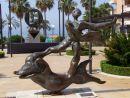 Salvador Dali Scupture, Calle Valdes, Marbella