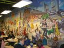 Mural in St Lawrence Market, Front Street West, Toronto