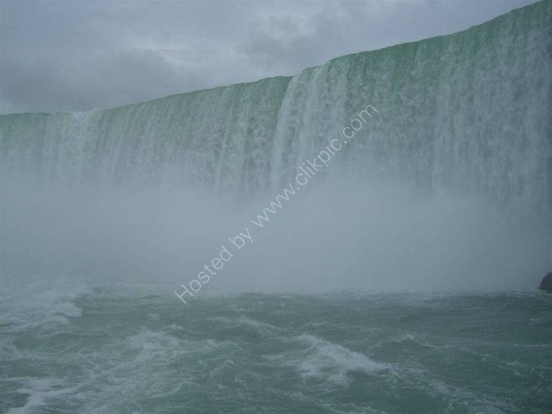 Up close to Horseshoe Falls, Niagara Falls