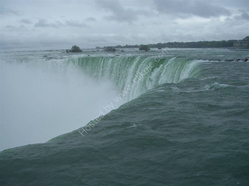 Top of Horseshoe Falls, Niagara Falls
