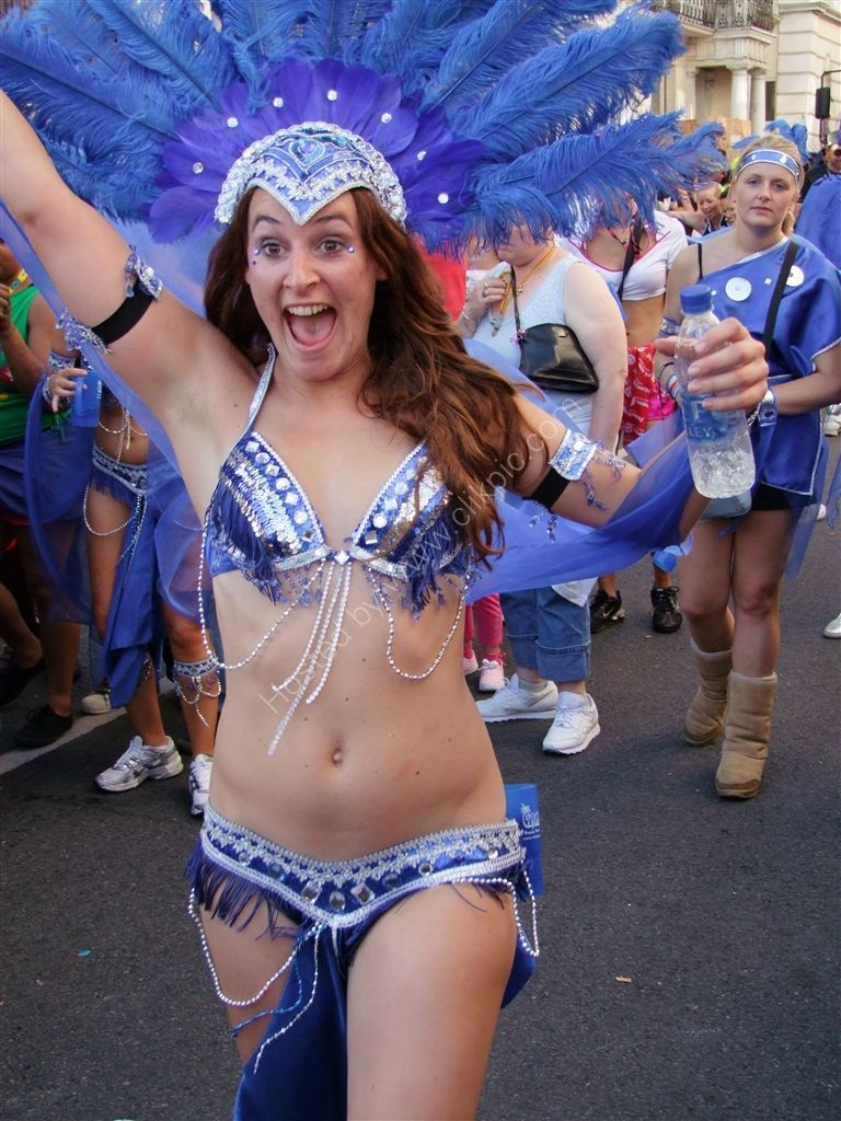 Full of energy! Nottinghill Carnival 2009