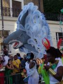 A dolphin! Nottinghill Carnival 2009