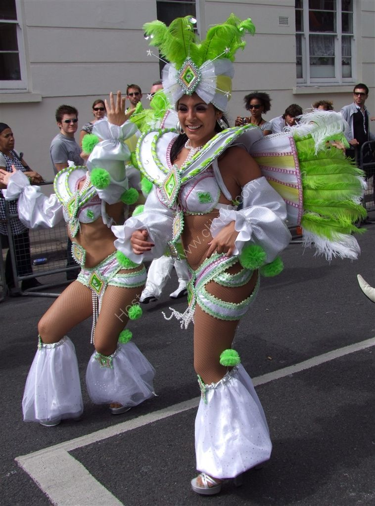Dancers, Nottinghill Carnival 2009