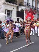 dancers, Nottinghill Carnival 2009