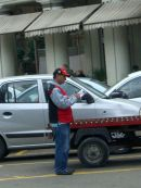 Parking Attendant, Havana