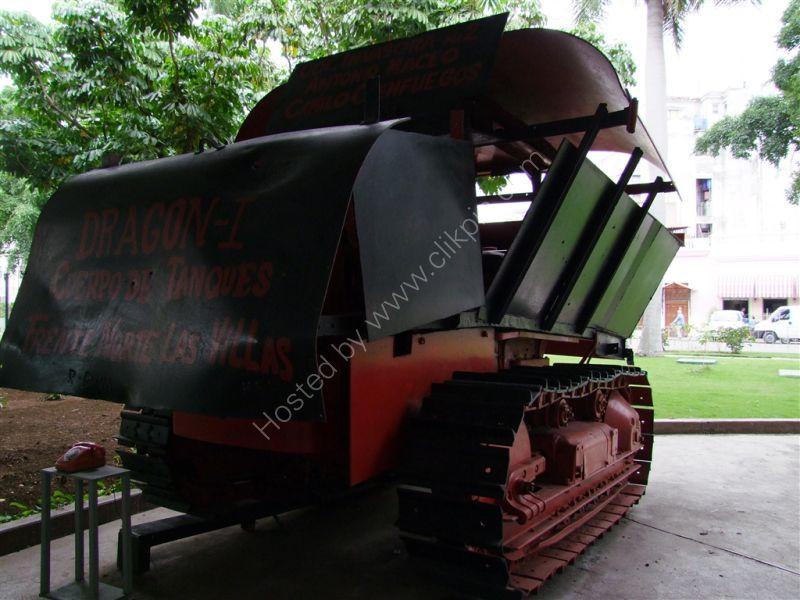 Flame Thrower, Revolution Museum, Havana