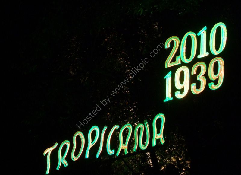 Tropicana Neon Signage, Buena Vista, Havana