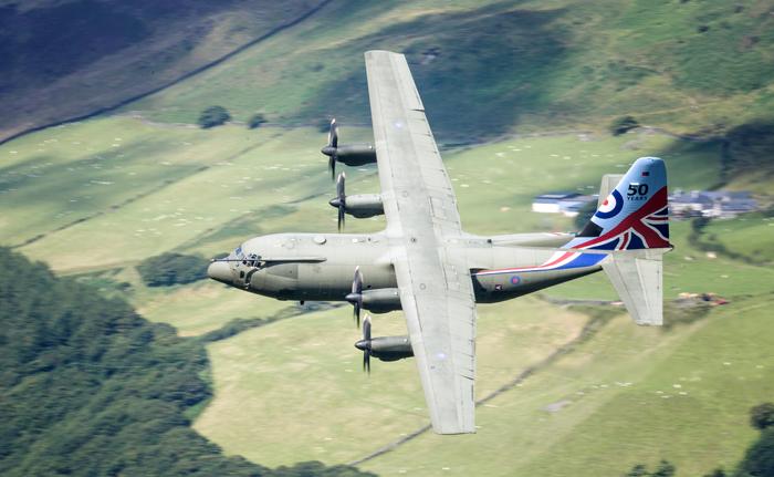 Lockheed C -130  Hercules 004