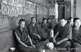 Monks at Tashilhunpo monastery Shigatse