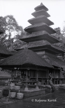 Temple of Batukaru on the island of Bali Indonesia