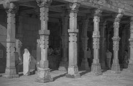Hindu architecture in Qutb Minar New Delhi India