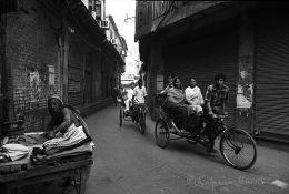 In the old quarter Old Delhi