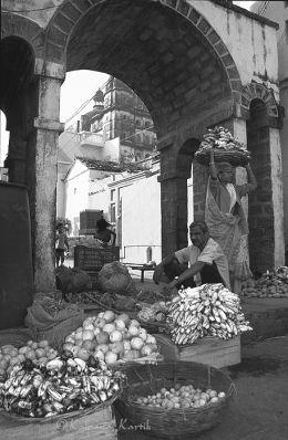 At the market Orcha