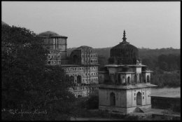The Chattri of Orcha along the Betwa river