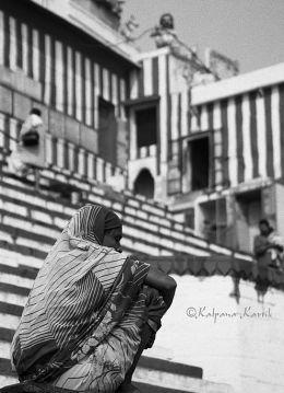 The ghats of Benares