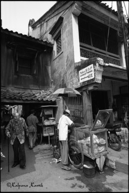 At the old quarter Chinatown Jakarta Indonesia