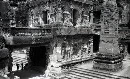 Kailash Siva temple Ellora caves in Charanandri hills Maharasthra