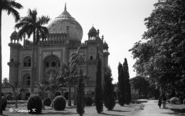 18th century Mughal style Safdarjung tomb New Delhi